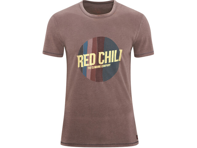 Red Chili Apani T-Shirt Men brun